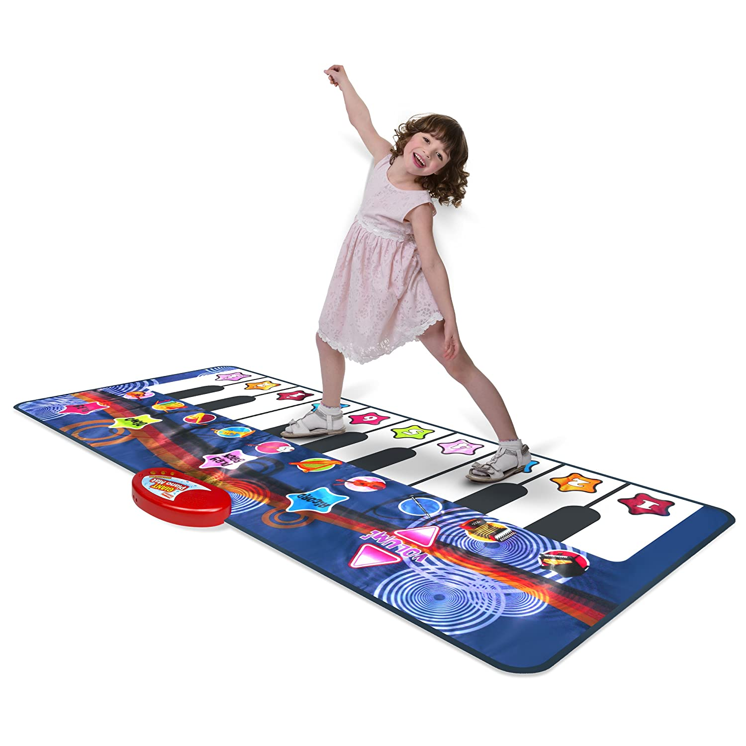 Amazon Kidzlane Durable Piano Mat 10 Selectable Sounds Play