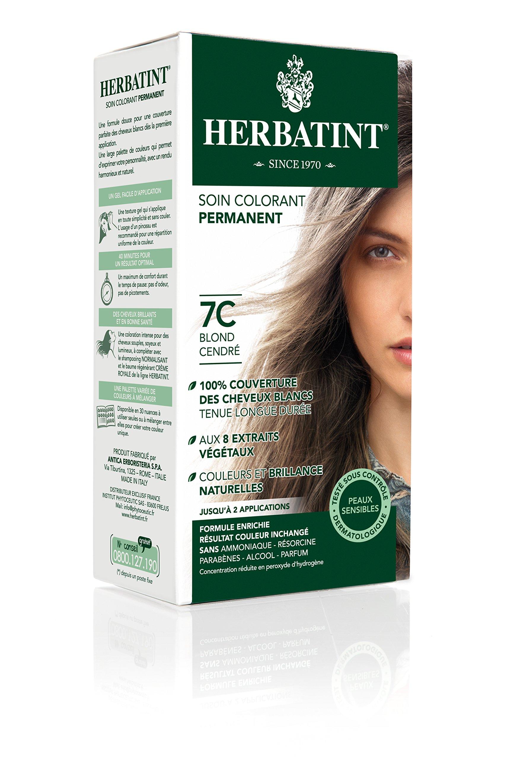 Amazon.com : Herbatint Hair Color, 7N Blonde, 4.56 Fluid Ounce ...