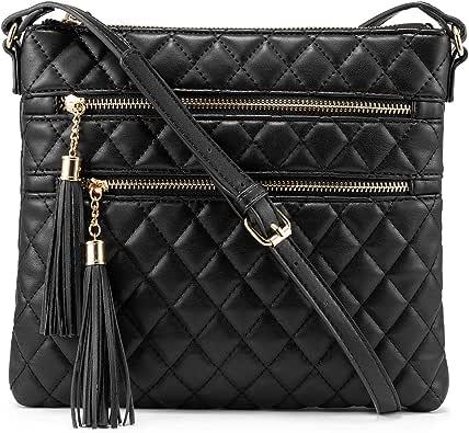 Crossbody Bags for Women, Purses Handbags Cross,Shoulder Purse Double Tassel