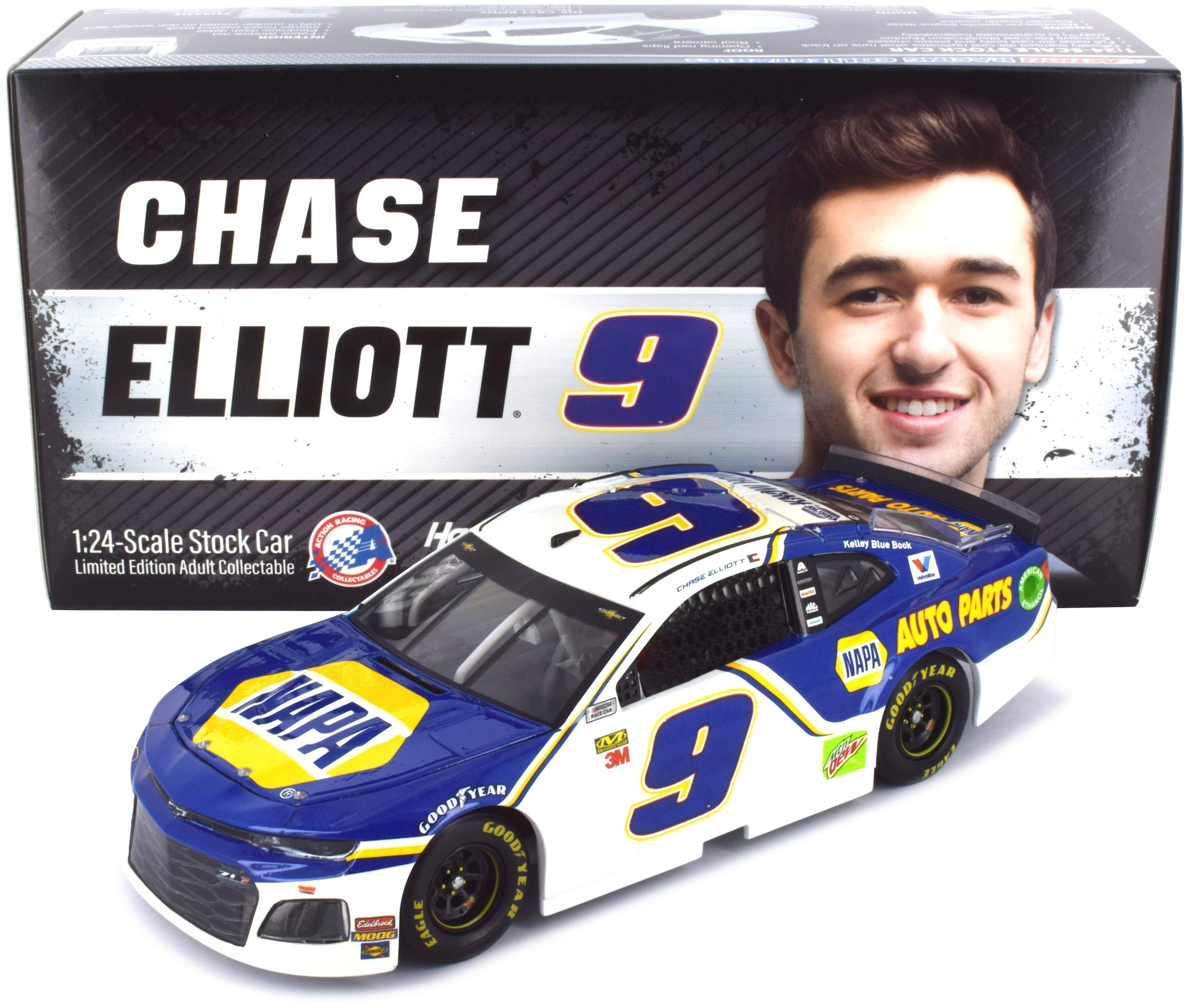 Lionel Racing Chase Elliott #9 NAPA 2019 Chevrolet Camaro NASCAR Diecast 1:24 Scale