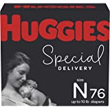 Newborn Diapers - Huggies Special Delivery Hypoallergenic Disposable Baby Diapers, 76ct, Giga Pack