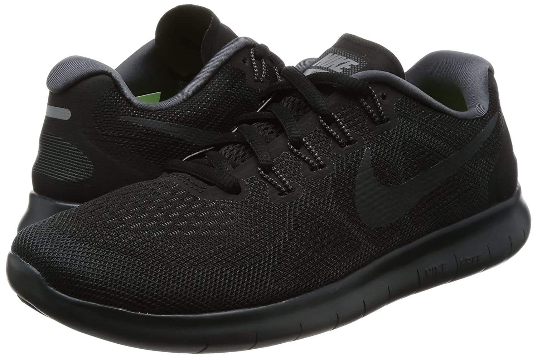 NIKE Women's Free RN 2017 Running Shoe B01K0NRAUO 8 M US|Black/Anthracite Dark Grey