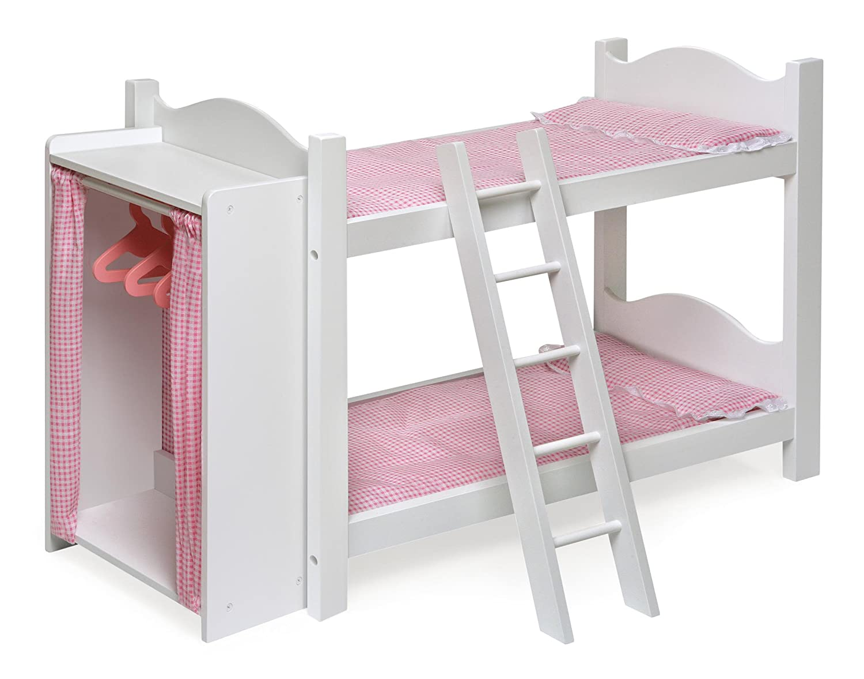 Etagenbett Puppe : Holz puppen etagenbett puppenmöbel spielzeug peitz