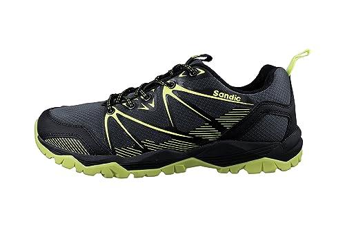 LEKANN - Zapatillas para Correr en Montaña de Sintético para Hombre: Amazon.es: Zapatos y complementos