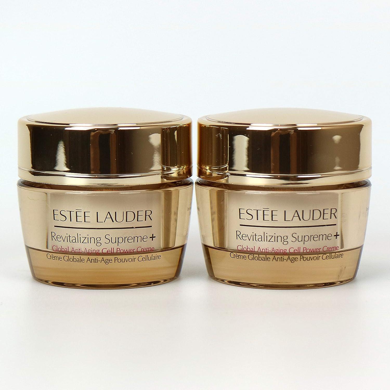 8fa367dbf9ee Amazon.com  Lot 2 x Estee Lauder Revitalizing Supreme+ Global Anti-Aging  Cell Power Creme 0.5 oz   15 ml each