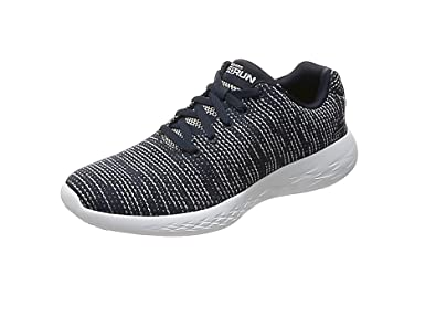 Skechers Womens Obtain Low Top Lace Up Running Sneaker
