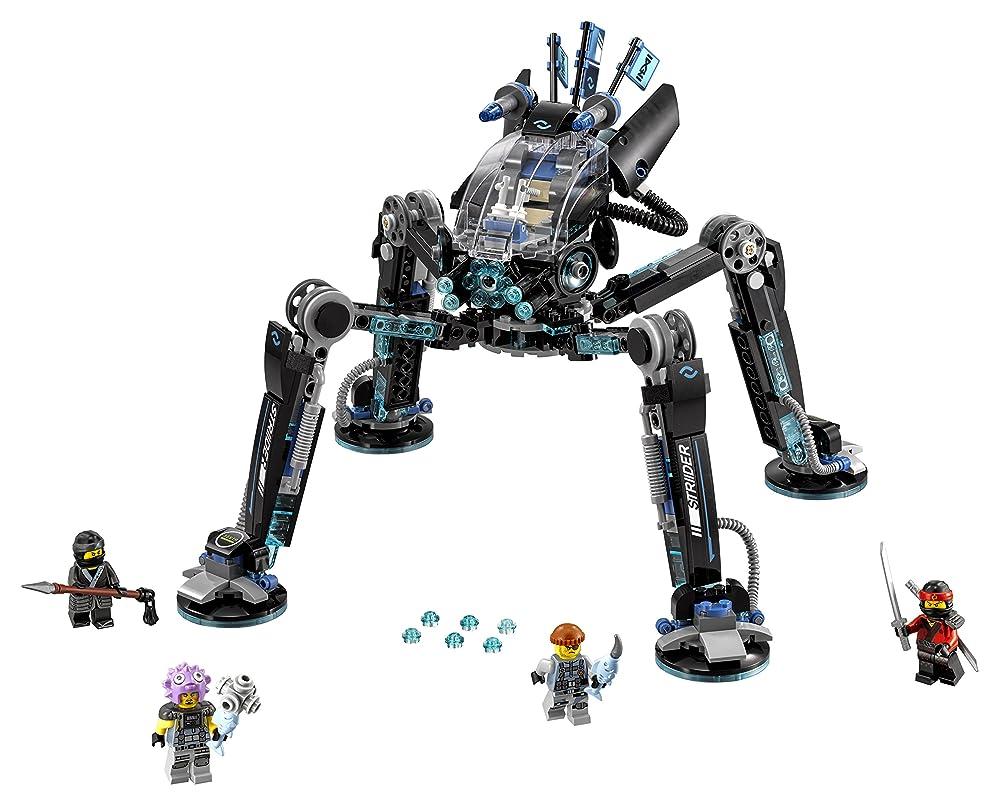 LEGO 乐高 Ninjago 幻影忍者系列70611 水忍者的水上战斗机甲
