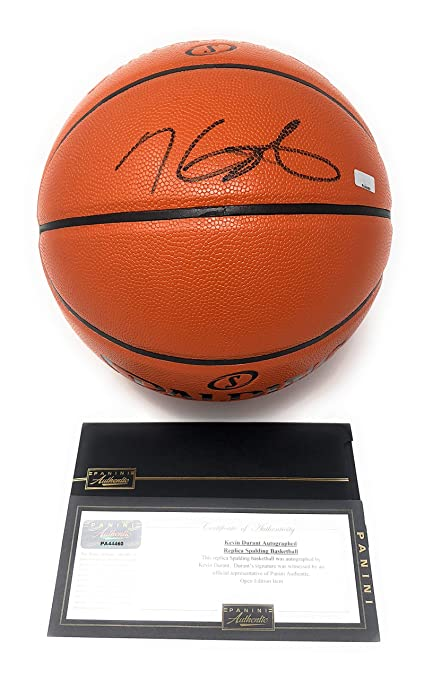 sale retailer 91478 5079c Kevin Durant Golden State Warriors Signed Autograph NBA Game ...
