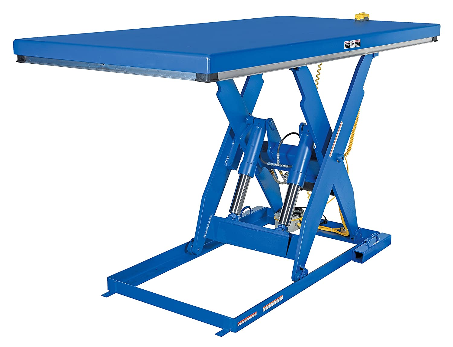 Vestil EHLT-4896-4-56 Electric Hydraulic Lift Table, 4000 lb, 8