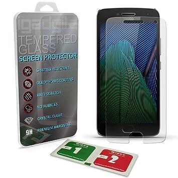 igadgitz Protector de Pantalla Vidrio Templado para Motorola Moto ...