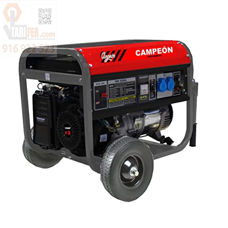 CAMPEON - Generador Movil Eco390 13Hp 4T Campeon 5 Kva
