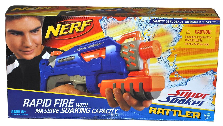 Hasbro NERF Super Soaker - Soaker Wars Rattler