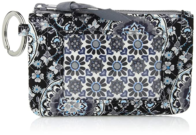 Amazon.com: Vera Bradley Iconic Zip ID Case, Signature ...