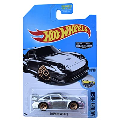Hot Wheels Zamac Porsche 993 GT2, Factory Fresh 10/10: Toys & Games [5Bkhe0503345]