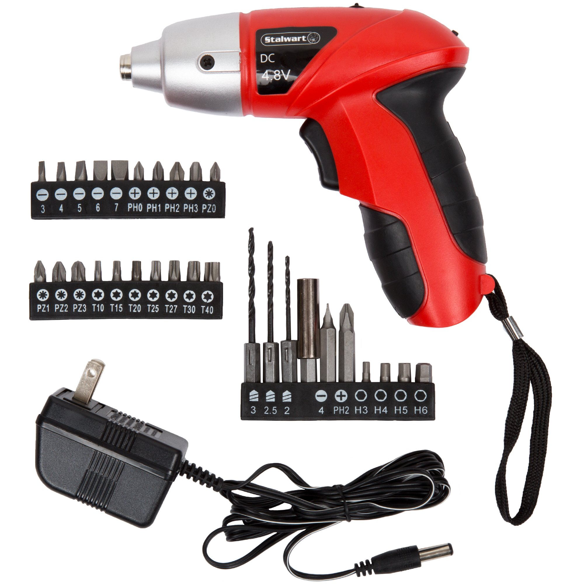 Trademark 75-60100 Hawk 4.8V Cordless Screwdriver with Light