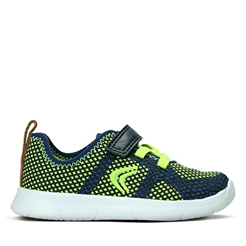 ed5ffb3e0bda1 Clarks Ath Flux Textile Trainers in Blue: Amazon.co.uk: Shoes & Bags