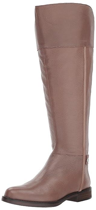 Franco Sarto Women's Christine Wide Calf Fashion Boot, Dover Taupe, ...