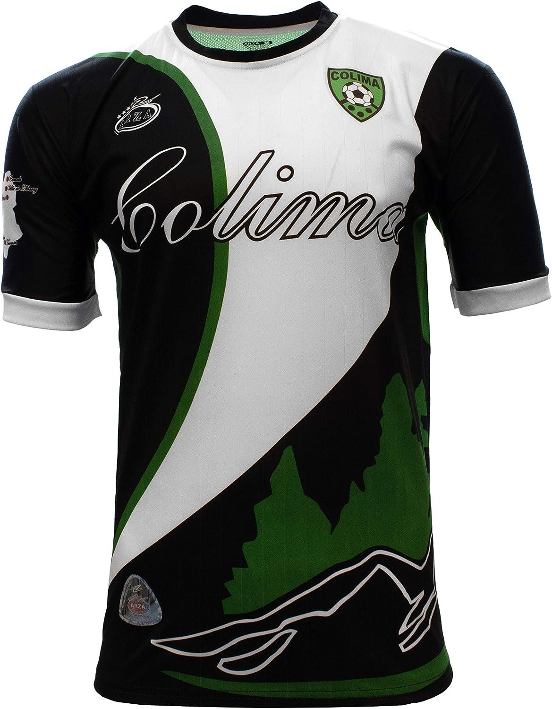 Colima Mexico Jersey Color White and Black Arza Design