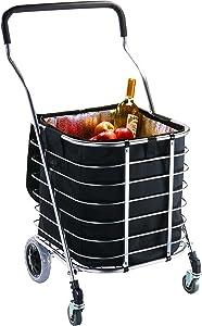 HOMZ Premium Tote Cart Bundle Buggy Liner, Aluminum