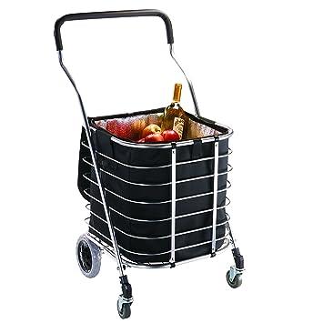 Amazon.com: Homz Premium bolsa carrito de la compra ...