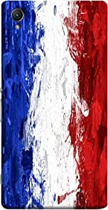 ColorKing Football France 11 Multi Color shell case cover for Sony Xperia Z5