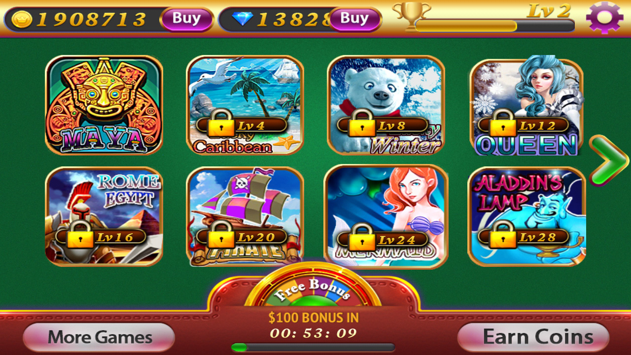 slot machine games android