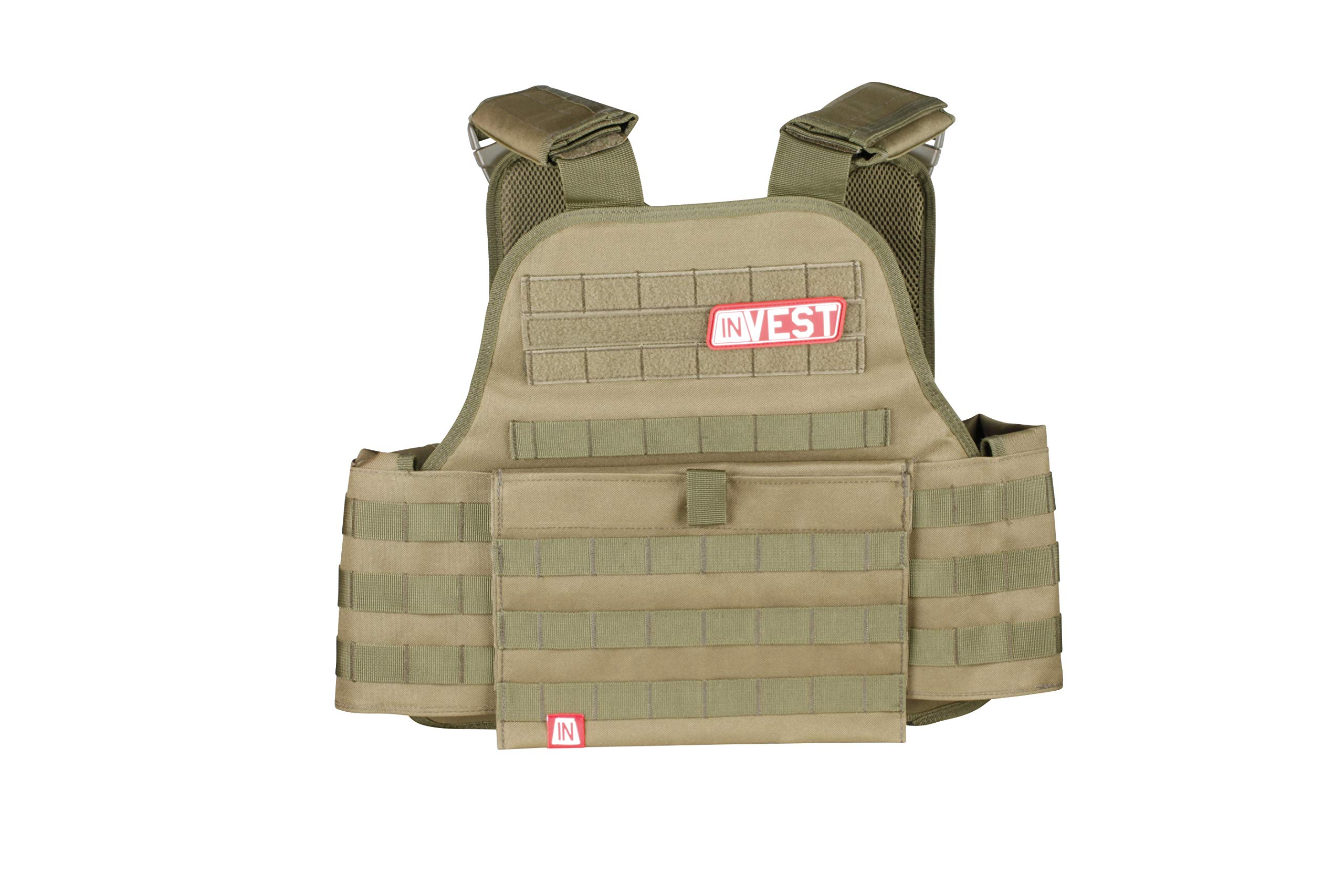 Invest Pro Weight Vest, 20 lbs. (Ranger Green) by Invest Fitness (Image #1)