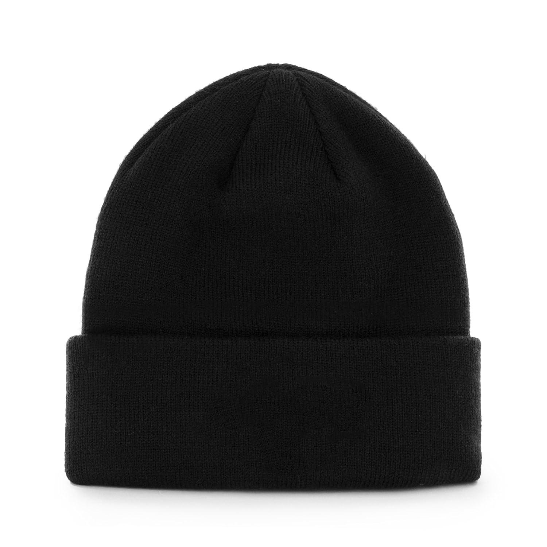 One Size Black NFL Oakland Raiders 47 Raised Cuff Knit Hat