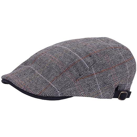 RaOn G66 Men Big Plus Size Herringbone XL XXL newsboy Cap Cabbie Flat Golf  Gatsby Hat a525b4a3a309