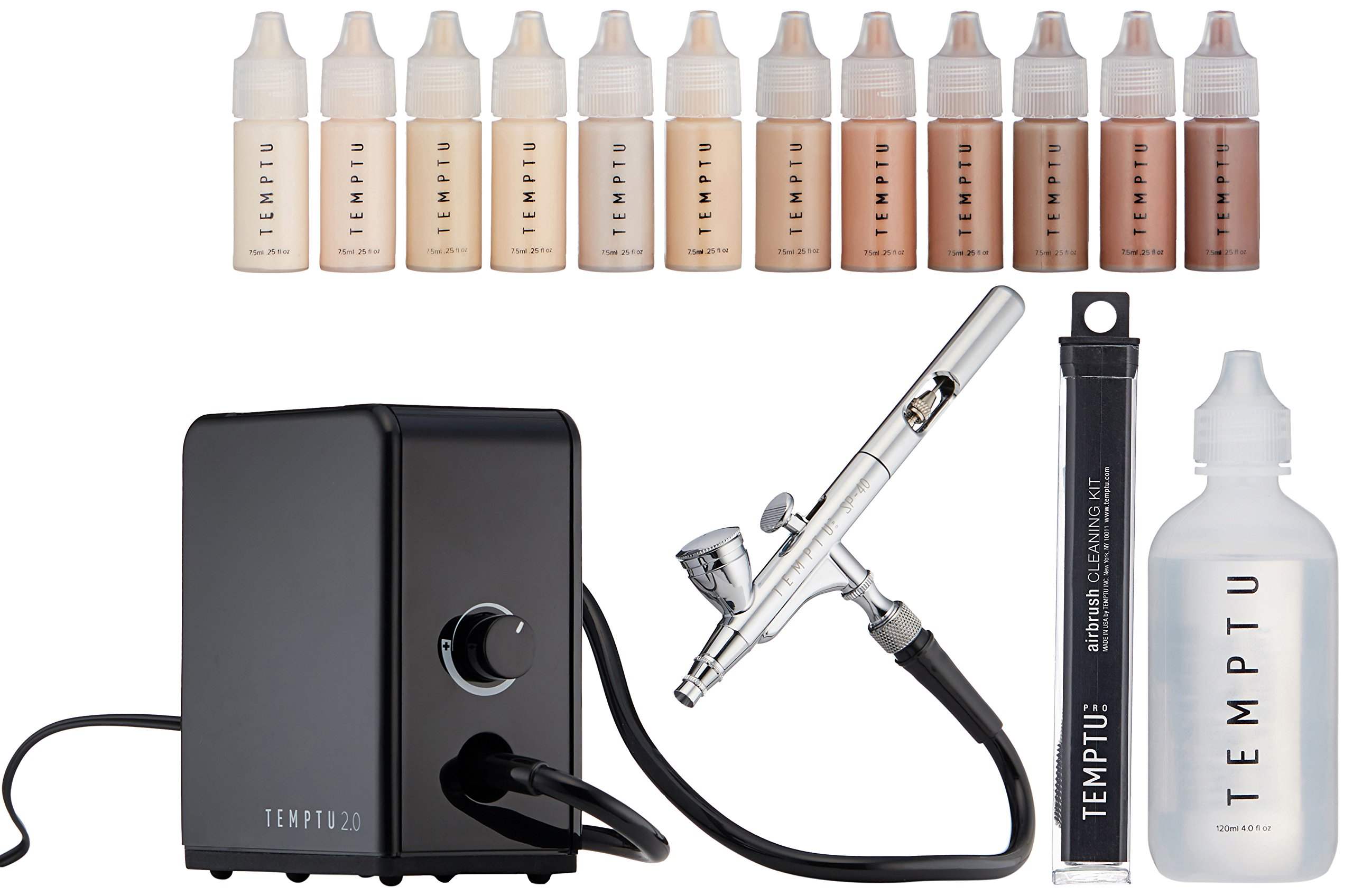 Temptu Airbrush Makeup System 2.0 Premier Kit: Airbrush Makeup Set for Professionals by Temptu