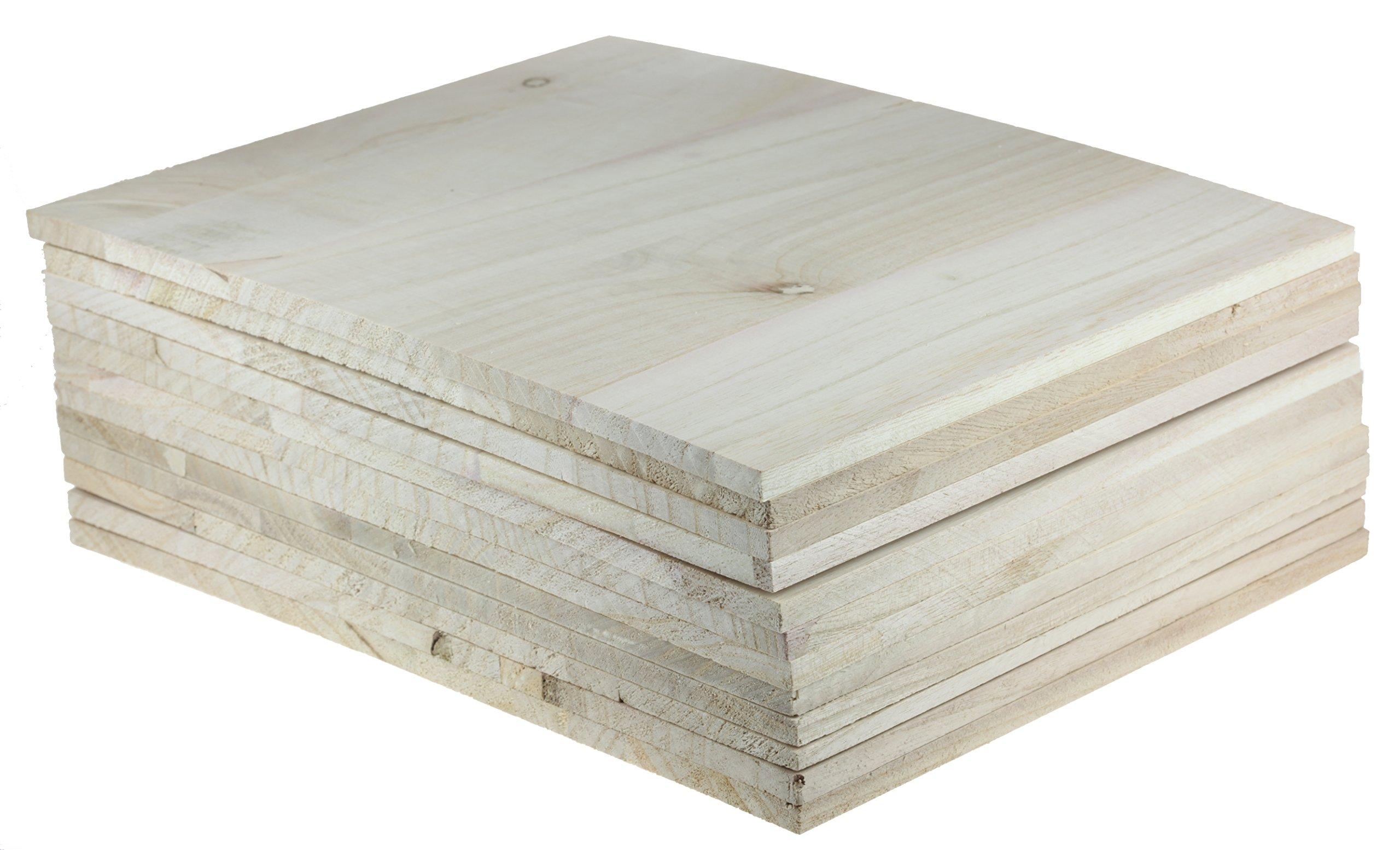 Wood Breaking Board - Breakable Board in 8 mm thickness (12 Board Pack)