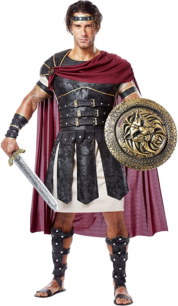 Amazon.com: Disfraz California Costumbes de guerrero romano ...