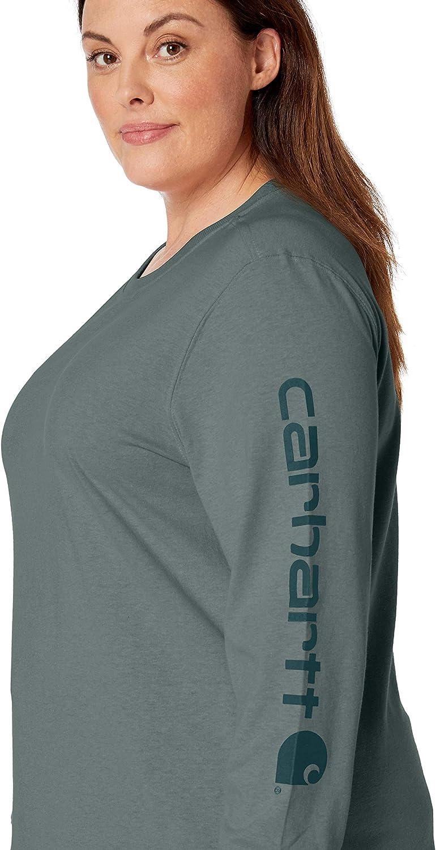 Carhartt Women Long-Sleeve T-Shirt Work Pocket