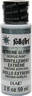 product image for FolkArt Extreme Glitter Acrylic Paint in Assorted Colors (2 Ounce), 2834, Confetti