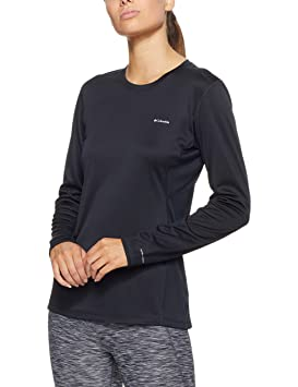 Columbia Midweight II Long Sleeve Top - Camisa para mujer, color negro, talla M: Amazon.es: Zapatos y complementos