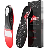 Plantar Fasciitis Arch Support Insoles for Men and Women Shoe Inserts - Orthotic Inserts - Flat Feet Foot - Running Athletic
