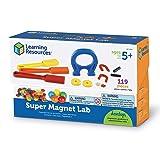 Learning Resources Super Magnet Lab Kit, STEM