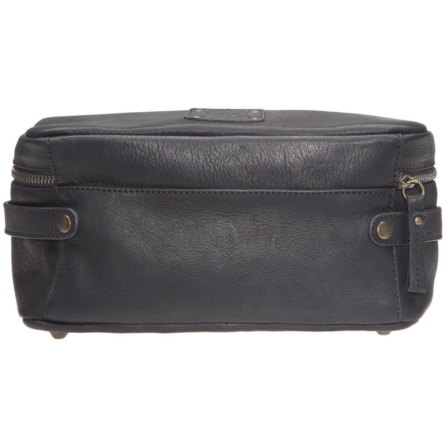 Will Leather Goods Men's Desmond Leather Travel Case - Black