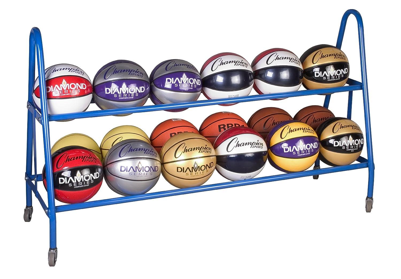 Amazon.com: Champion Sports Ball Carts, 38x17.5x35.75 Inch: Sports U0026  Outdoors