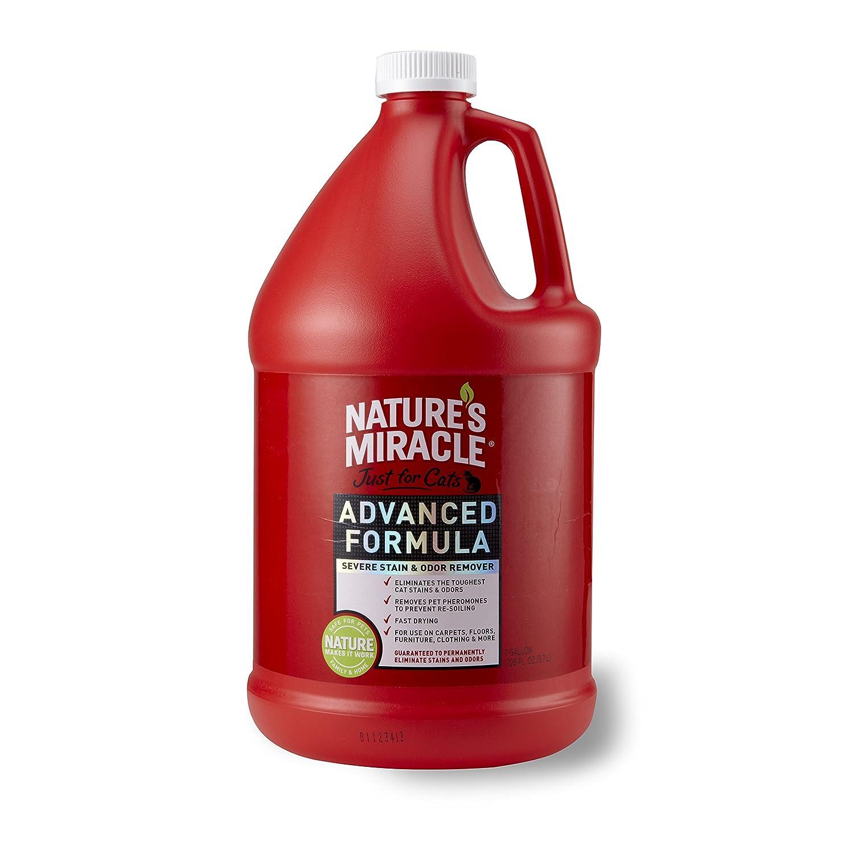 Nature's Miracle juste pour chats Advanced taches et odeurs Formule 3628, 7gram (Gallon) United Pet Group P5724