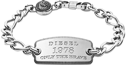 Amazon.com: Diesel DX1129040 - Placa de acero inoxidable ...