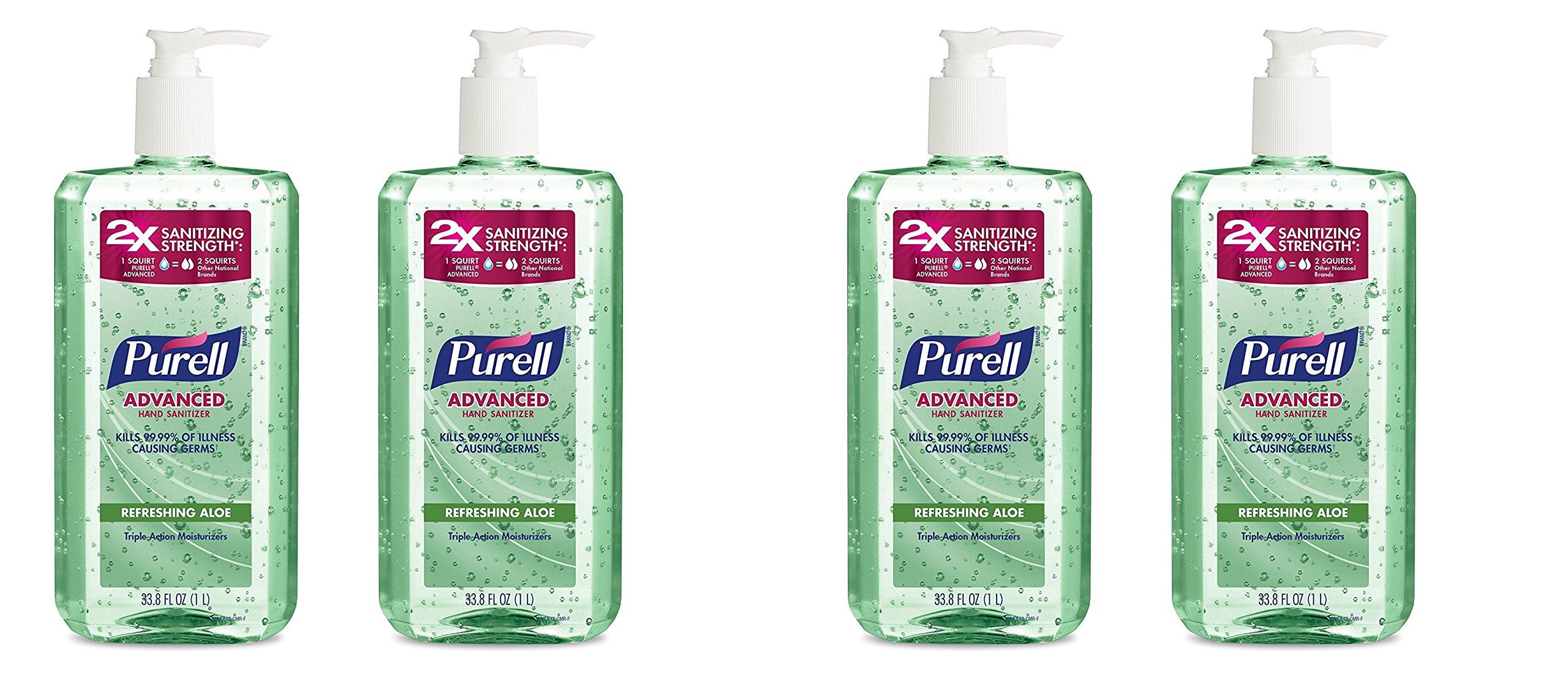 PURELL Advanced Hand Sanitizer (4 Pack)