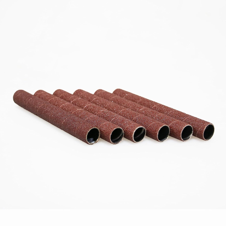 Dark Stone Sanding Sleeves, 4-1/2' x 1/2', 240 Grit, 6-pack 4-1/2 x 1/2