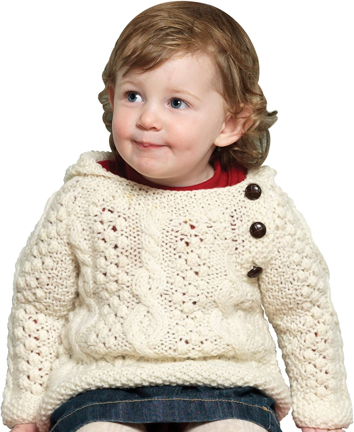 Irish sweater for baby size 36 months