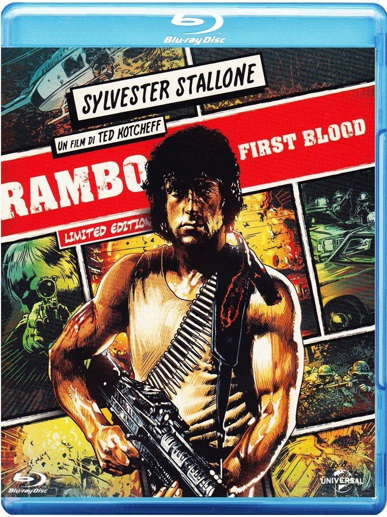 Rambo Limited Reel Heroes Edition Italia Blu-ray: Amazon.es: vari, vari, vari: Cine y Series TV