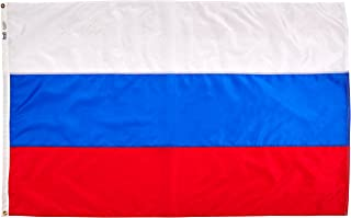 product image for Annin Flagmakers Model 199006 Russia Flag Nylon SolarGuard NYL-Glo, 4x6 ft, 100% Made in USA to Official United Nations Design Specifications