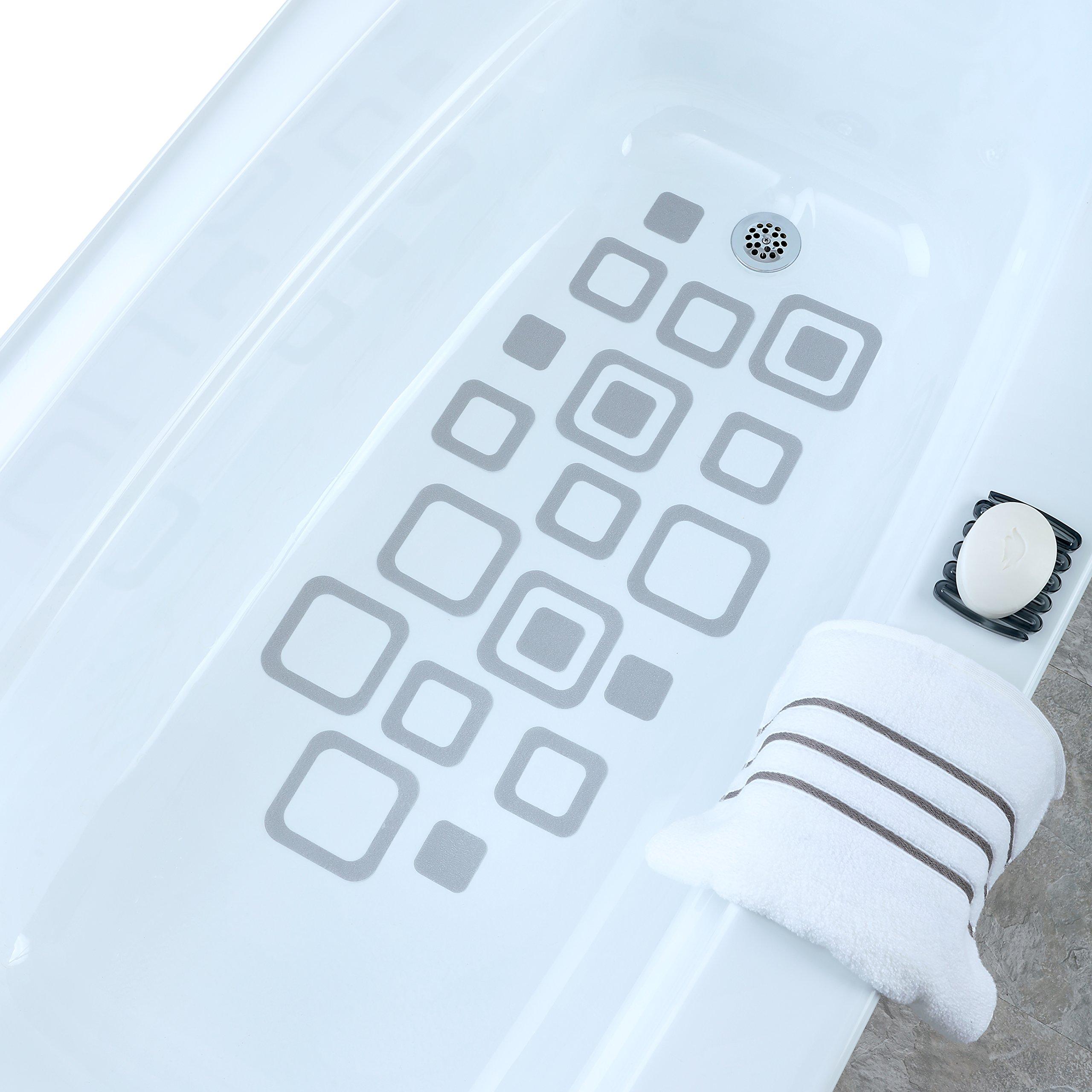 Bathtub Tread No Slip Stickers Grip Adhesive Mat Bath Tub Safety ...