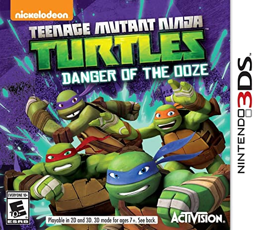 Activision Teenage Mutant Ninja Turtles: Danger of the Ooze ...