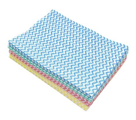 merful desechables multiusos lavado paño 50pcs gamuza de limpieza de toallas de limpieza de tela no