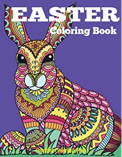 Easter Coloring Book And Spring Designs For Adults Teens Children